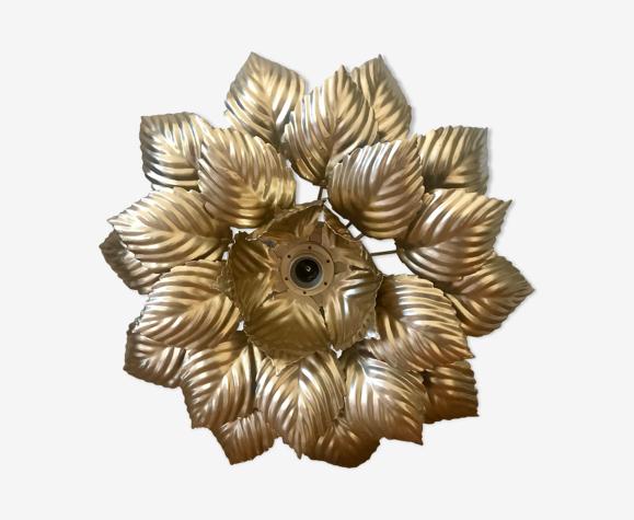 Applique fleur dorée Masca