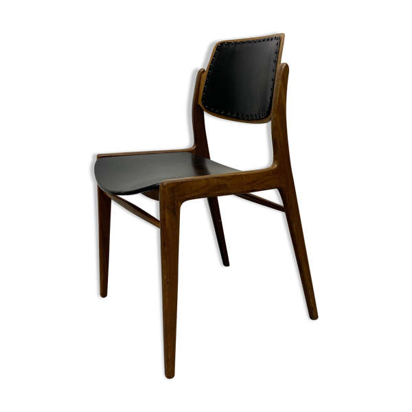 Selency Chaise par Hartmut Lohmeyer pour Wilkhahn 1950