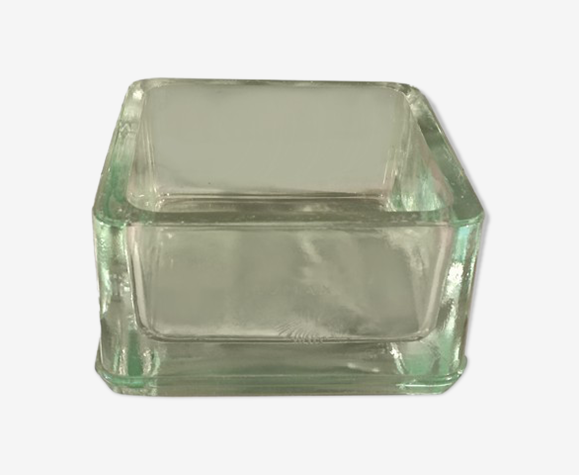 Cendrier Lumax recuit pavé de verre moulé