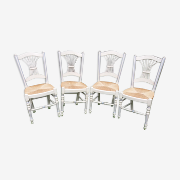 Chaises en paille