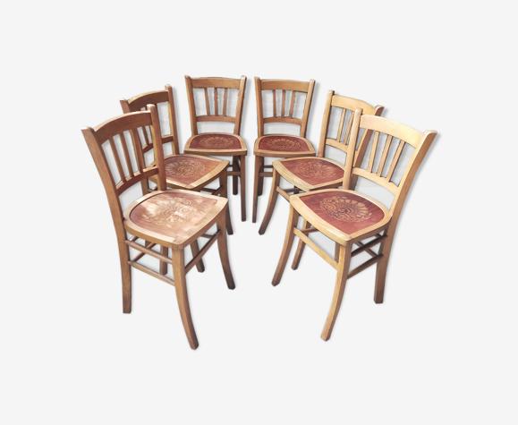 Lot de 6 chaises Luterma