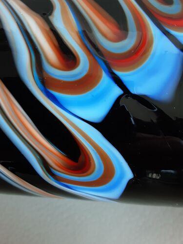 Vase rouleau en verre