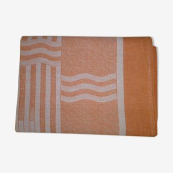 Nappe en coton damassé  140 x 150 cm