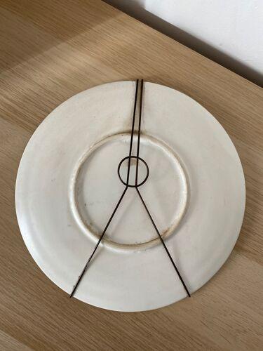 Assiette décorative Vallauris