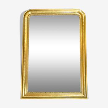 Miroir 126x89 époque Louis-Philippe philippe ,belle dorure