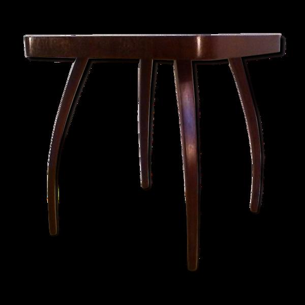 Table basse modèle h 259 art déco en laiton par Jindrich Halabala 1930s