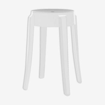 Tabouret Charles Ghost de Philippe Starck
