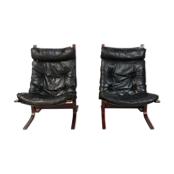 Selency Paire de fauteuils Siesta par Ingmar Reling
