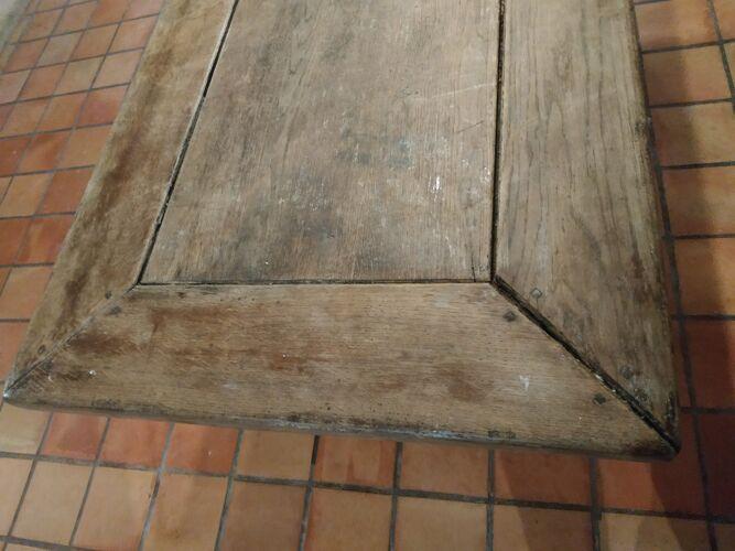 Table de monastère patinée XIXeme