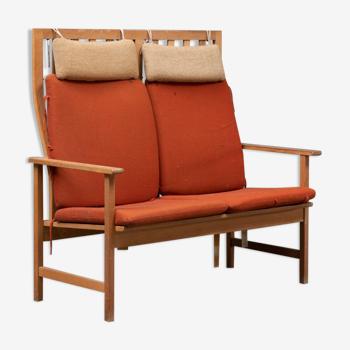 Canapé modèle 2260 de Børge Mogensen pour Meuble Fredericia