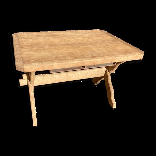 Selency Table de ferme aéro gommée