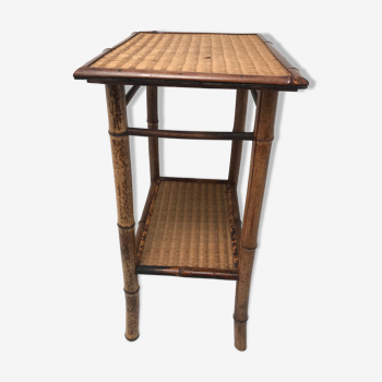 Sellette en bambou années 60 70