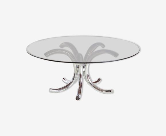 Table basse en forme de bouquet