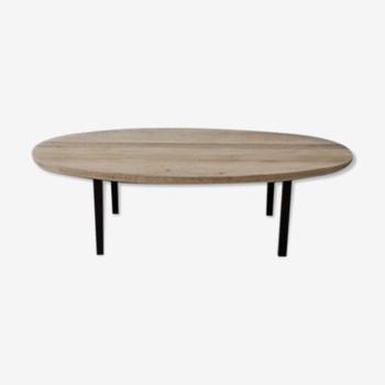 Table basse ovale très basse