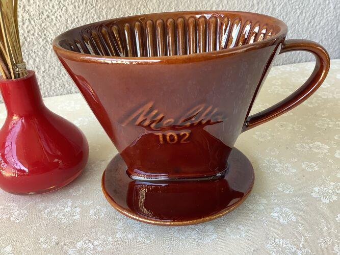 Filtre Melitta à café 102 - Dripper Melitta