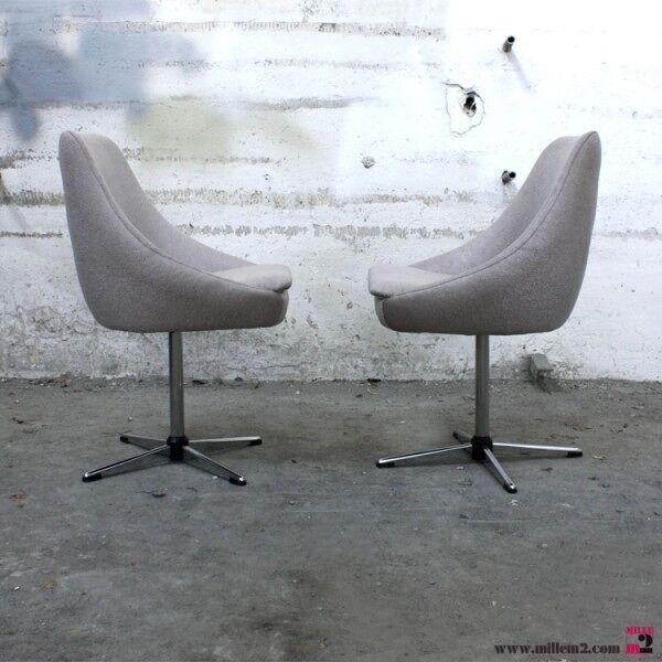 Belle chaise vintage des années 50/60 pivotante.