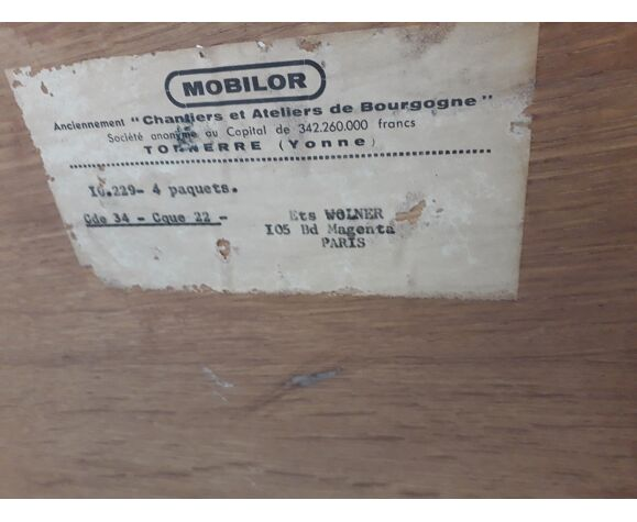 Meuble de rangement, années 50