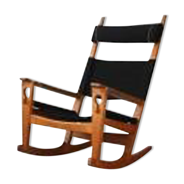 Selency Rocking-chair de Hans Wegner