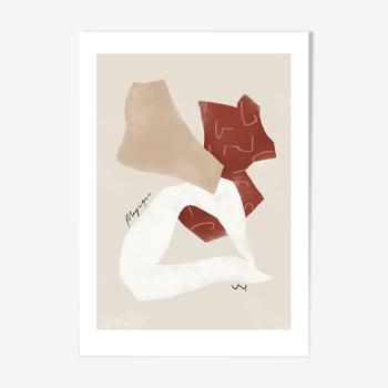 'magique' art print a3