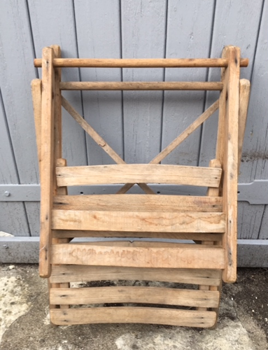 Old folding chair