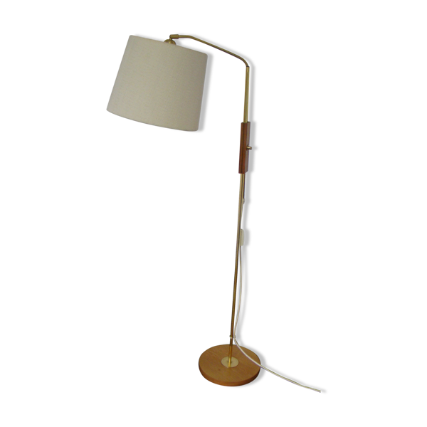 Lampe de sol ajustable vintage par Temde Allemagne