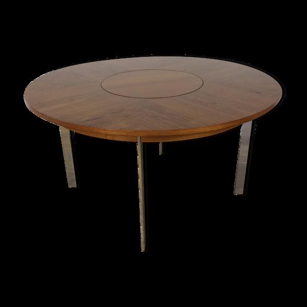 Table à manger en bois de rose du milieu du siècle par Merrow Associates