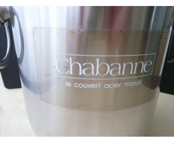 Seau à champagne en acier inoxydable  Chabanne