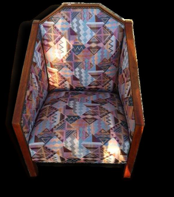 Petit fauteuil art déco