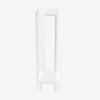 Porte-plante en plexiglass