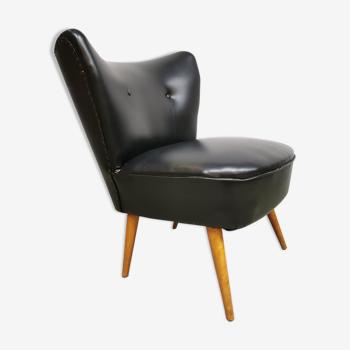 Vintage cocktail Expo club chair Artifort black