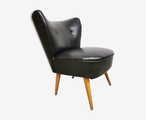 Vintage cocktail Expo club chair Artifort black