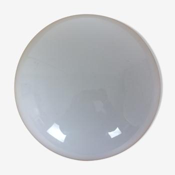 Applique boule opaline demi sphère