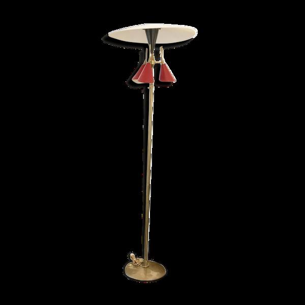 Lampadaire récent dans le style des créations italiennes des années 50
