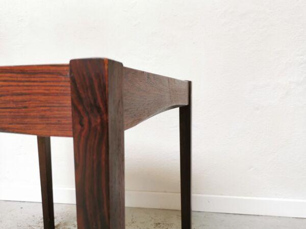 Table basse d'appoint scandinave vintage en céramique