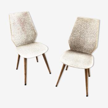 Deux chaises scandinaves 1950