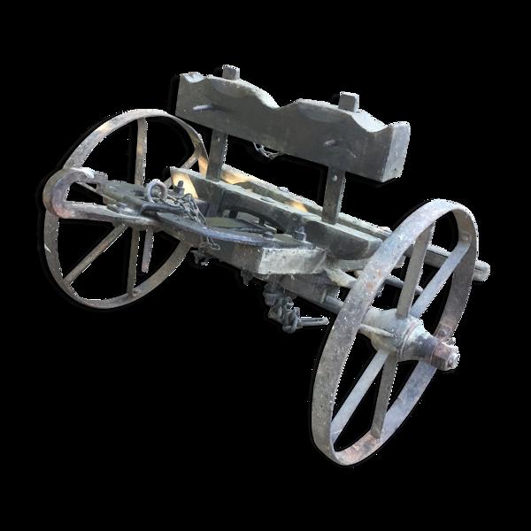 Ancienne charrette vintage 1900