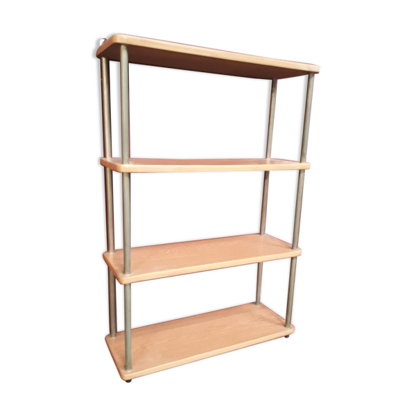 etagere vintage, formica style bois