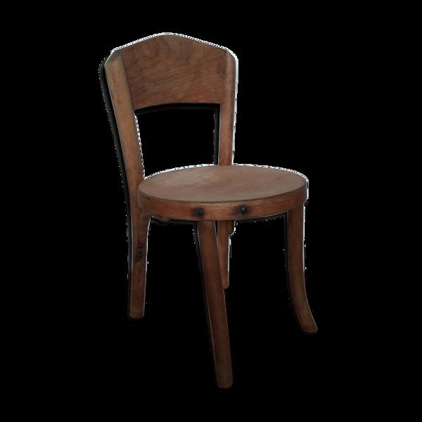 Chaise pour enfant en bois