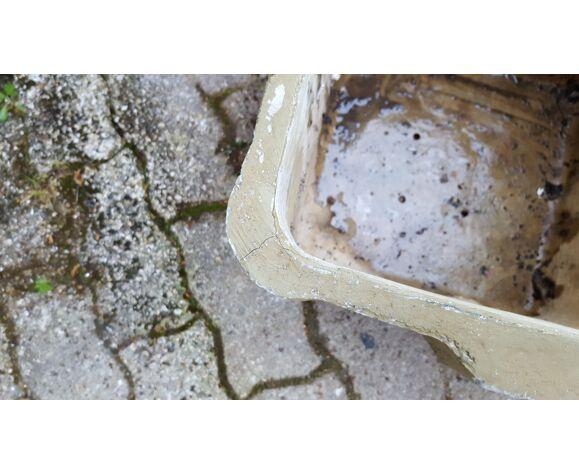 Jardinière en ciment années 1950/60