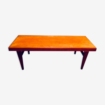 Table basse teck scandinave 1950 Johannes Andersen
