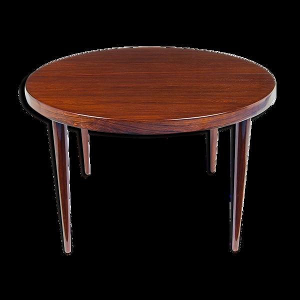 Selency Table à manger en bois de rose par Kai Kristiansen Danemark années 1950