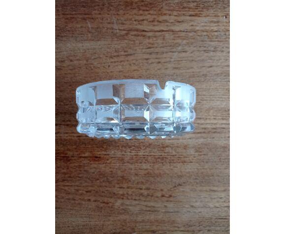Cendrier cristal vintage