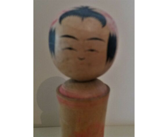 Kokeshi poupée japonaise Naruko signé
