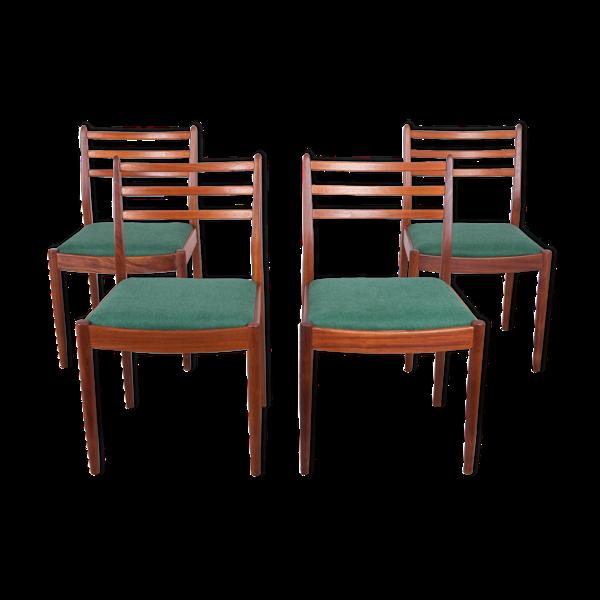 Selency Lot de 4 chaises par Victor Wilkins pour G-Plan, années 1960