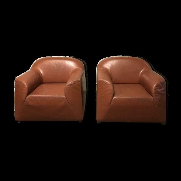 Selency Ensemble de 2 fauteuils vintage