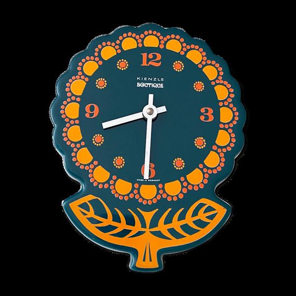 Horloge murale vintage Kienzle Boutique, intérieur des années 70