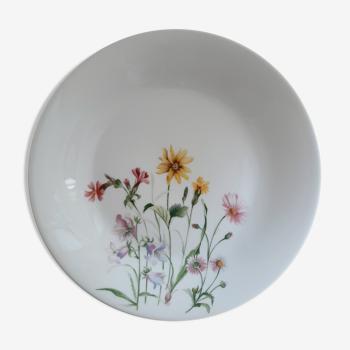 Plat porcelaine Chauvigny