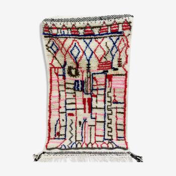 Tapis berbere  coloré 235 X 77 CM