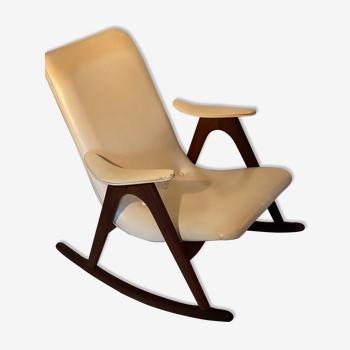 Rocking-chair de Louis Van Teeffelen années 1960