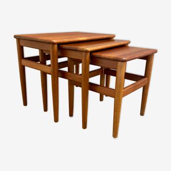 Table gigogne design scandinave 1950